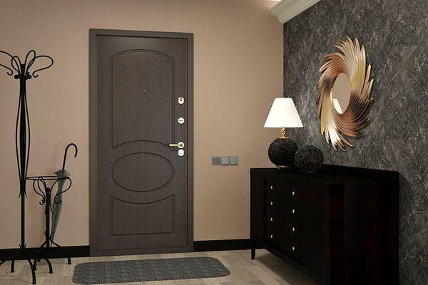 Стальная дверь для квартиры